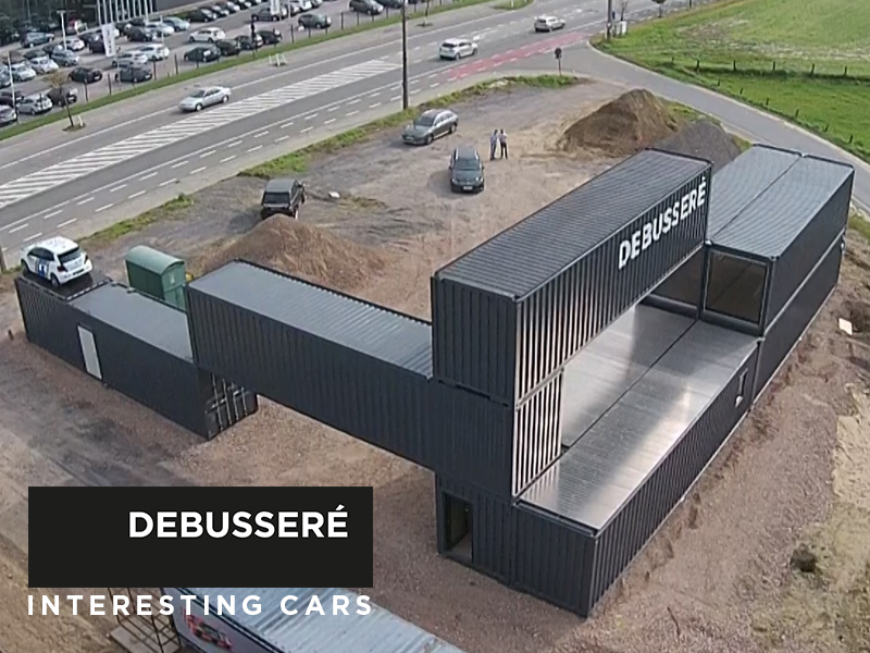 DEBUSSERÉ // Pop-up Car Store