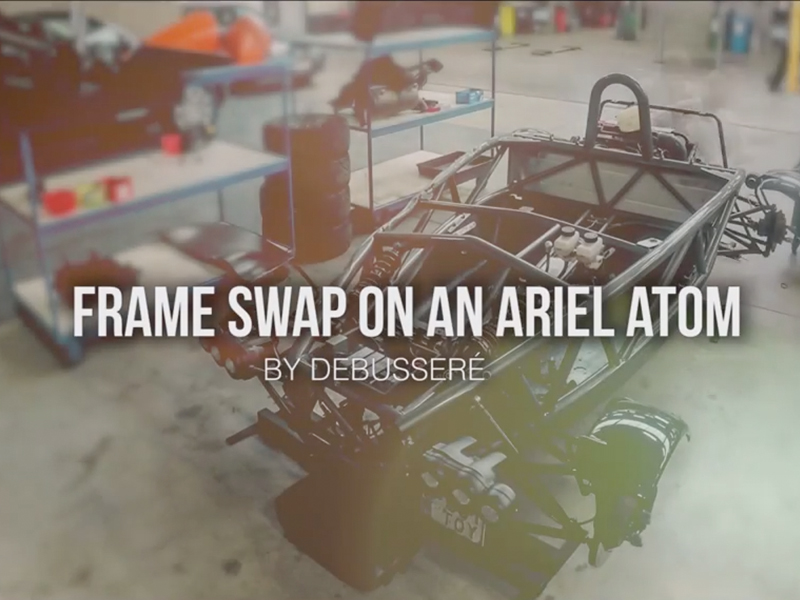 Frame Swap On An Ariel Atom – Debusseré